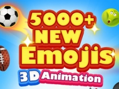 5000+ Emoji New - 3D Animated Emoticons 1.1.3 Screenshot