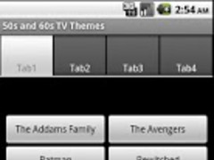 50s and 60s TV Theme Songs 2.0.2 Screenshot