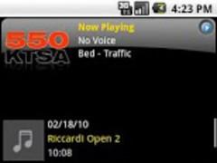 550 KTSA RadioVoodoo 1.1.2 Screenshot