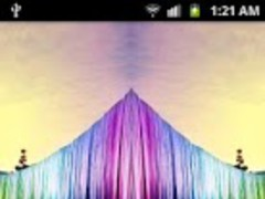 5D Rainbow Waterfall LWP 1.0.2 Screenshot