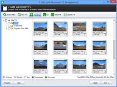 7-Data Card Recovery 1.6 Screenshot