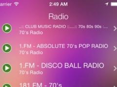 70s Music Radio Recorder 2.0 Screenshot