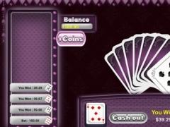 777 HiLo Poker Card Bonanza Pro - best Vegas card betting table 1.4 Screenshot
