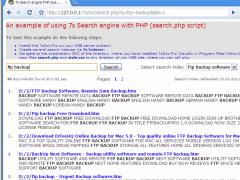 7s Search Engine 1.3.8 Screenshot