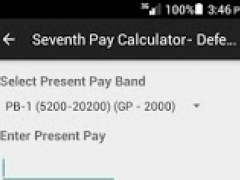 7th Pay Calculator for Defence 1.2 Screenshot