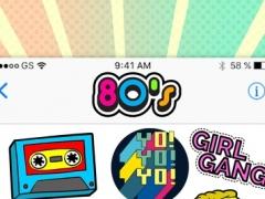 80's Emoji - Retro Sticker Pack for iMessage 1.0 Screenshot