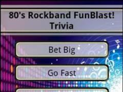 80's Rockband FunBlast Trivia 1.03 Screenshot