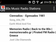 80s Music Radio Stations 1.0 Screenshot