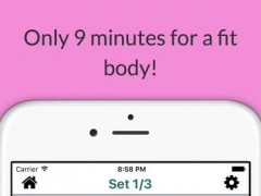 9 Minute Mommy and Baby Workout routines - Your Personal Fitness Trainer for Calisthenics exercises 1.2 Screenshot