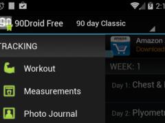 Fit XT Free (90Droid)  Screenshot