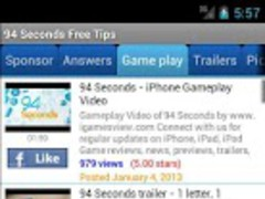 94 Seconds Free Tips 1.00 Screenshot