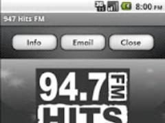 947 Hits FM 5.0.0 Screenshot
