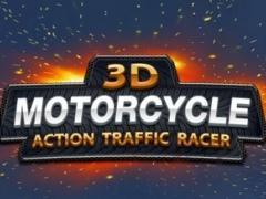 A 3D Motorcycle Action Traffic Racer - Motorbike Fury Race Simulator Racing Game Free 2.0 Screenshot