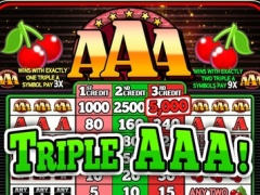 A AA AAA Slots - Classic Triple Pay Slot Machine 1.1 Screenshot