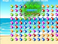 A Along The Ocean Beach Ball Pop 1.0 Screenshot