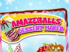A AmazeBalls Dessert Maker Ice-Cream Creator - Cones, Sandwiches & Sundaes 1.0 Screenshot