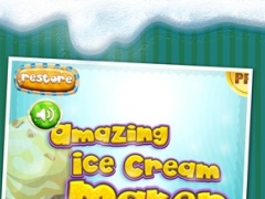 A Amazing Ice Cream Maker Game - Create Cones, Sundaes & Sweet Icy Sandwiches Shop 1.0 Screenshot