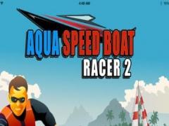 A Aqua Speed Boat Racer 2: Jet Ski Racing From Sharks and Killer Battleship Rivals Free 1.0 Screenshot