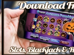 A Awesome Pumpkins Slots 777 Vegas 1.1 Screenshot