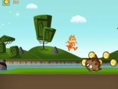 A Baby Dino Run - Family Friendly Dinosaur Jumping Game 1.1 Screenshot