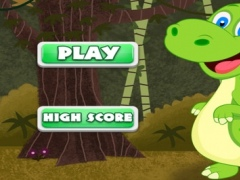 A Baby Dinosaur Speedy Park Challenge - Dodge The Meteor Stone Avoider Rush 1.0 Screenshot