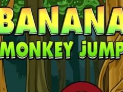 A Banana Monkey Jump Free Adventure Game for Fun 1.0 Screenshot