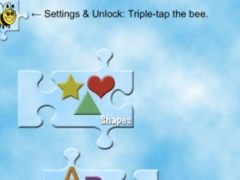 A Bee Sees Puzzles - Learn Shapes, Letters, and Numbers 1.1 Screenshot