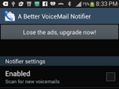 A Better VoiceMail Notifier 1.5 Screenshot