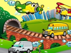 A Busy City Shadow Game: Learn and Play for Children with Vehicles 1.0 Screenshot
