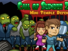 A Call of Slender Zombie: Mini Temple Defense Dead Apocalypse 1.0.1 Screenshot