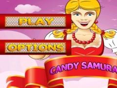 A Candy Samurai Free- Ninja Blade Slashing Game 1.1 Screenshot
