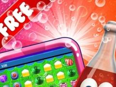 A Candy Splash - jelly match-3 digger of diamonds hd free 1.2 Screenshot