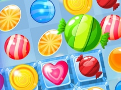 A Candy Star - sweetest mania and match-3 angry juice heroes swap free 1.0 Screenshot