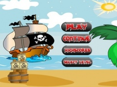 A Cannon Pirate Battle Shooting Level Games 1.1 Screenshot