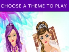 A Celebrity Fashion Dress Up, Makeover, and Make-up Salon Touch Games for Kids Girls 1.1 Screenshot