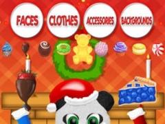 A Christmas Bear: Dress Up FREE 1.0 Screenshot