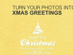 A Christmas Greeting Cards Booth - Make Customized Photo & Image Greetings Card 1.0 Screenshot