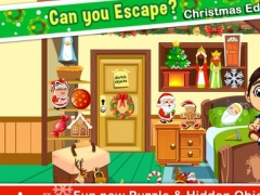 A Christmas Hidden Object Room Puzzle Quiz - can you escape the xmas house in an adventure guess pic 2 for kids! 1.0 Screenshot