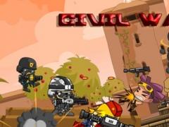 A Civil War – Advanced Soldiers Game in a World of Warfare 1.0 Screenshot