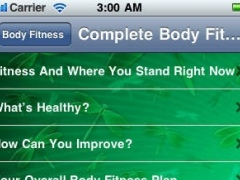 A Complete Body Fitness Guide 1.3 Screenshot