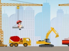 A Construction Site Learning Game for Children: Learn about the builder 1.0 Screenshot