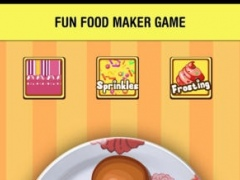 A Cookies Donut Maker & Food Cooking Making - dessert makeover games for kids 1.1 Screenshot