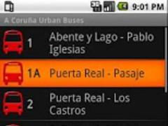 A Corua Urban Buses 1.6.3 Screenshot