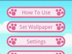 A Cute Cat Live-Wallpaper 1.11 Screenshot