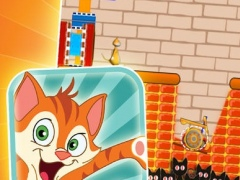A Cute Catapult Kitty - Free Puzzle Games 1.0 Screenshot