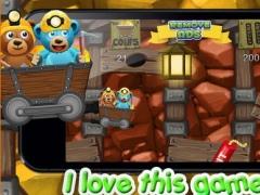 A Despicable Bears Gold Rush - Free Rail Miner Game 1.0 Screenshot
