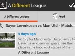 A Different League 3.6.1 Screenshot