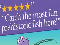 A Dinosaur Park Fish Frenzy ULTRA - Jurassic Pet Dino Zoo Fishing Game 1.1 Screenshot