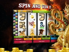 A Dragons Slots Blitz - Hit The Wheel For A Bonus 1.0 Screenshot