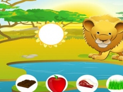 A Feed The Cool Safari Animals Kids Game – Free Interactive Experience To Learn About Good Nutrition 1.0 Screenshot